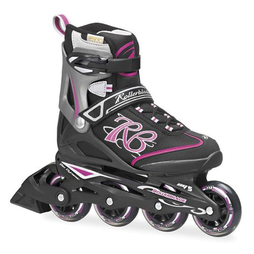 Patin-Rollerblade-Zetrablade--Dama--Black---Pink-CM-27.5---ARG-41.5---EUR-425