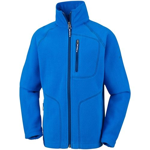 Campera-Columbia-Fast-Trek---Niños--440-Super-Blue---Carbon-XXS