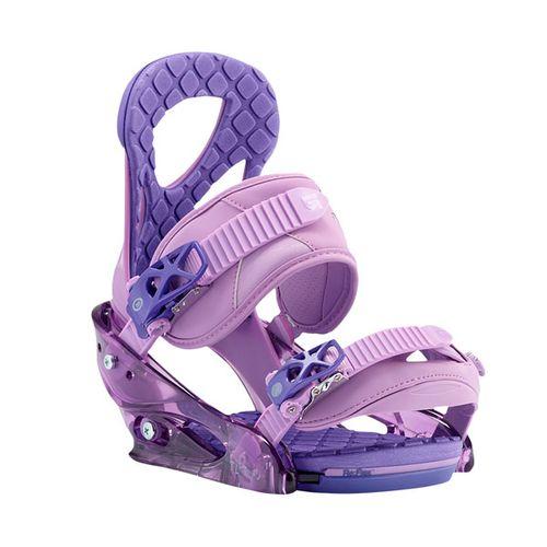 Fijaciones-de-Snowboard-Burton-Stiletto-2017-Mujer-Purple-L---USA--8---ARG--40---CM--25