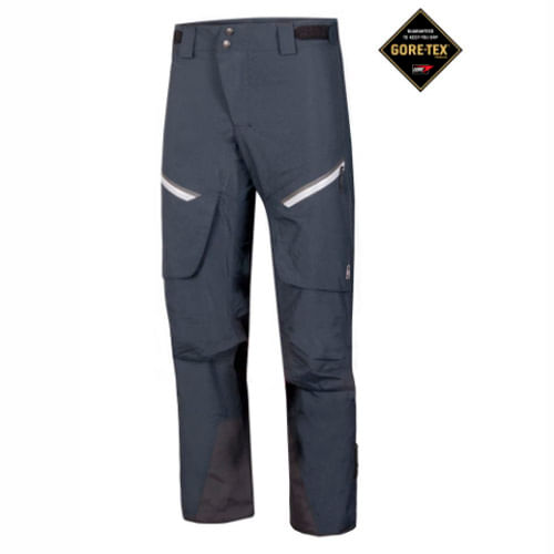 Pantalon Ski Ansilta Slalom II - Hombre - Goretex - Negro ... d2c0faaa18f2
