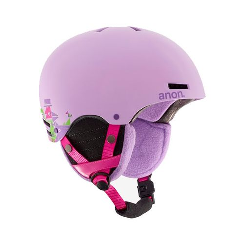 Casco-Ski-Snowboard-Anon-Rime-Wildlife-Purple-Niña-L-XL