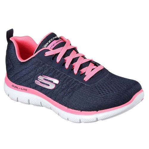 Zapatillas-Skechers-Flex-Appeal-2.0-Break-Free---Mujer---Running---6-Us---Navy-Pink