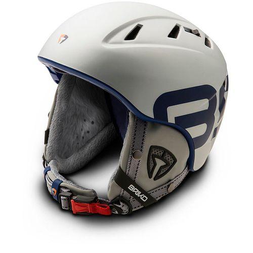 Casco-Ski-Snowboard-Briko-Amak--Silver-Steam-Unisex-M