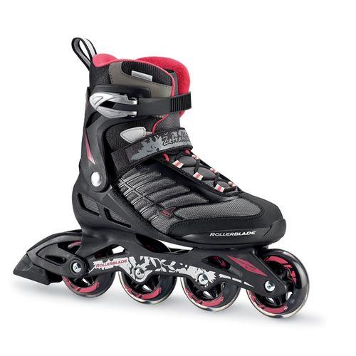 Patin-Rollerblade-Zetrablade--W---Mujer---Fitness---Composite-Black---Cherry-CM-25.5---ARG-39---EUR-40