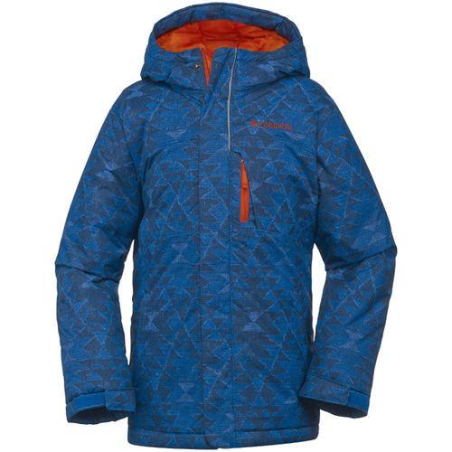 Campera-Columbia-Alpine-Free-Niños-Impermeable-de-ski--XXS-Sup-Blue-Print