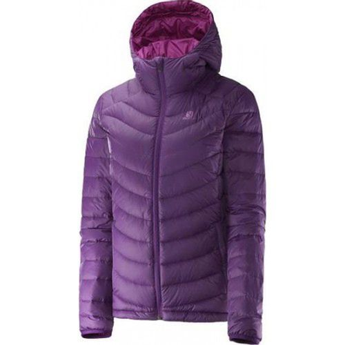 Campera-Salomon--Halo-Down--Dama--M-375106-Cosmic-Purple