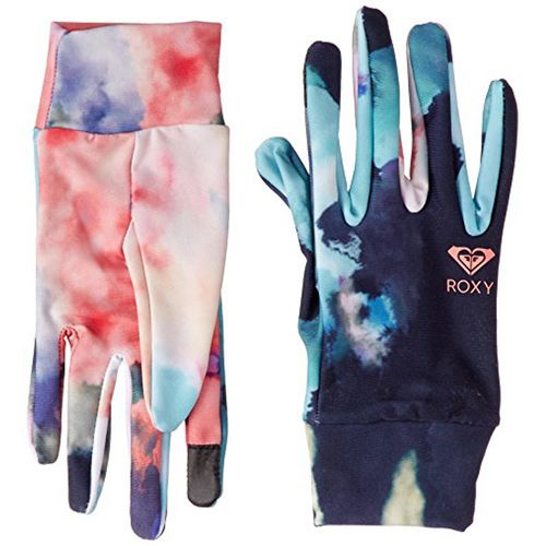 Guantes--Roxy-Liner-Gloves-Dama-Impermeables-para-snowboard--M-NKN6-Neon-Grap