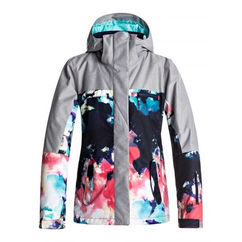 Campera-Roxy-Jetty-Block-Dama-Impermeable-para-ski-y-snowboard-NKN6-Neon-Grapefruit-Cloud--M