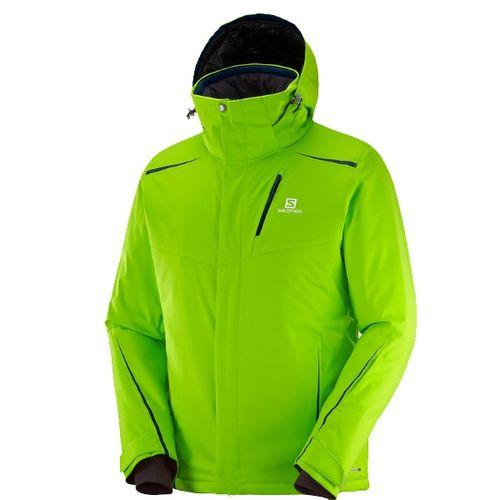 Campera-Salomon-Rise-Hombre-de-ski-impermeable-390851-Granny-Green-S