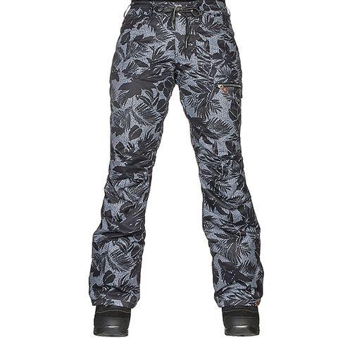 Pantalon-Roxy-Rifte-Impermeable-respirable--M-KVj6-True-Black-Floral