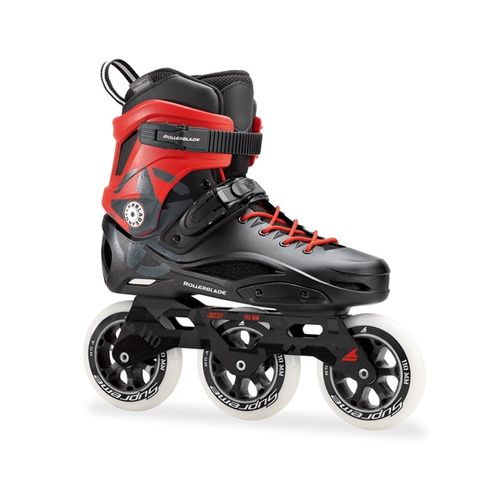Patin-Rollerblade-RB-110-3WD-Black-Red-CM-23---ARG-35.5---EUR-36.5