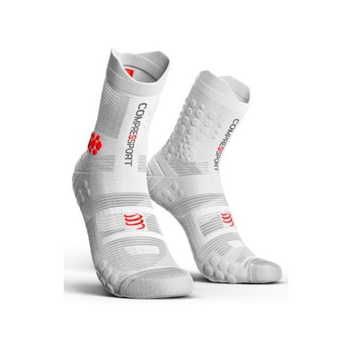 Medias-compresion-Compressport-Racing-Sock-V3----Unisex---Trail-Running-White-Talle-2--38-41-ARG