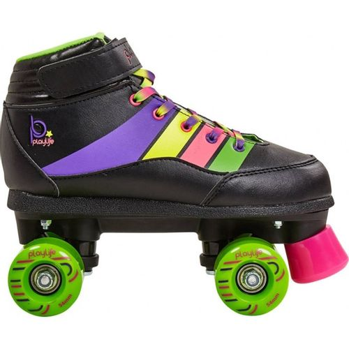 Patines-Playlife-Quad-Groove--Niños-Black-EUR-32---ARG-31---CM-18.7