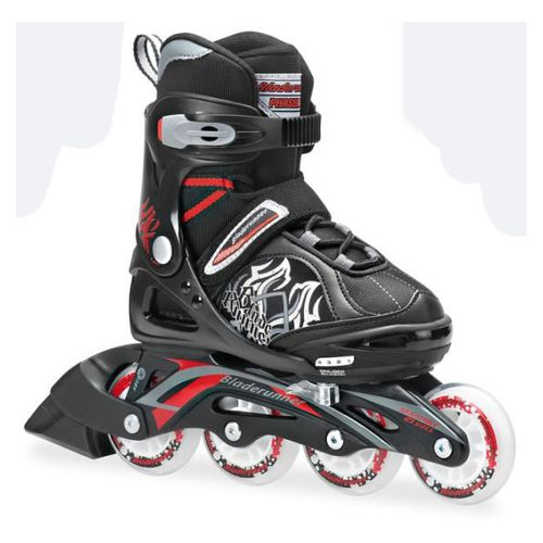 Rollers-Bladerunner-Phaser-Xr---Extensibles-Niños-Black-Red-USA-1-4---ARG-31-34---CM-20.5-22