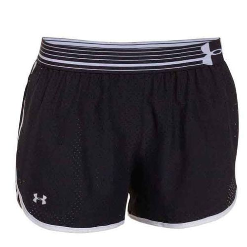 Short-Under-Armour-Perfect--Dama--XS-Black-White