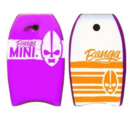 Banga-Bodyboard-Tabla-Barrenar-Mini-22-Ps---Niños-Playa-Violeta
