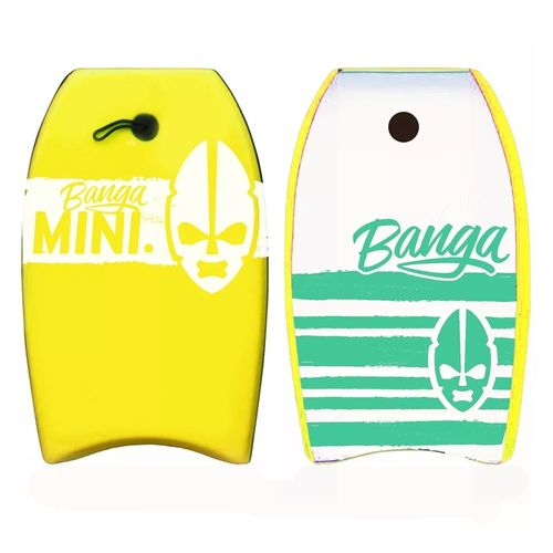 Banga-Bodyboard-Tabla-Barrenar-Mini-22-Ps---Niños-Playa-Amarillo