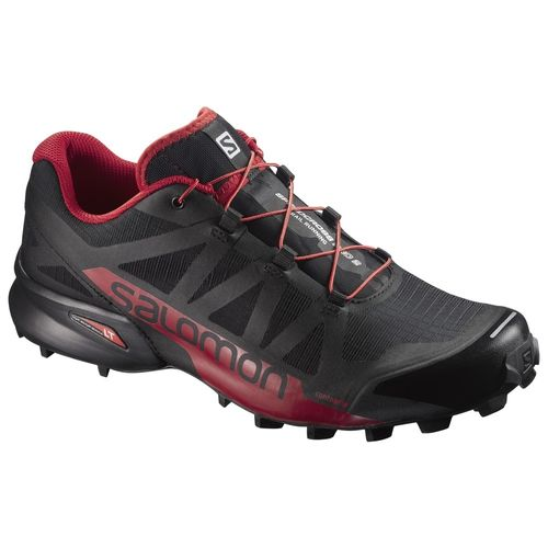 Zapatillas-Salomon-Speedcross-Pro-2---Hombre---Trail-Running-398429-Black---Barbados-Cherry-UK-7---ARG-39.5---CM-25.5