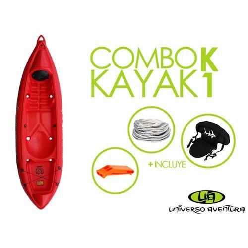 -COMBO--Kayak-Atlantikayak-s-K1---Remo---Accesorios