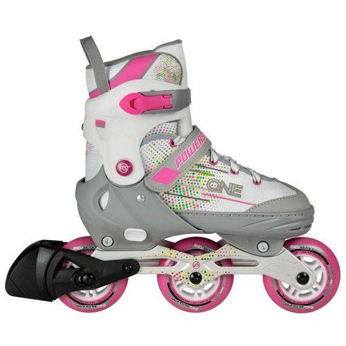 Roller-Powerslide--Joker-Niñas-3-Ruedas-extensibles-3-talles-white-Pink-EUR-33-36---ARG-32-35---CM-20.9-22.7