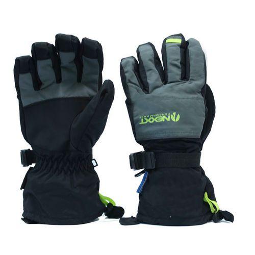 Guantes-Nexxt-Miller-Hombre-Ideal-para-ski-Snowboard--M-Black---Grey