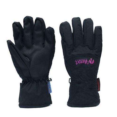 Guantes-Nexxt-Retro--Ideal-para-ski-Snowboard-Mujer-L-Black-Fest