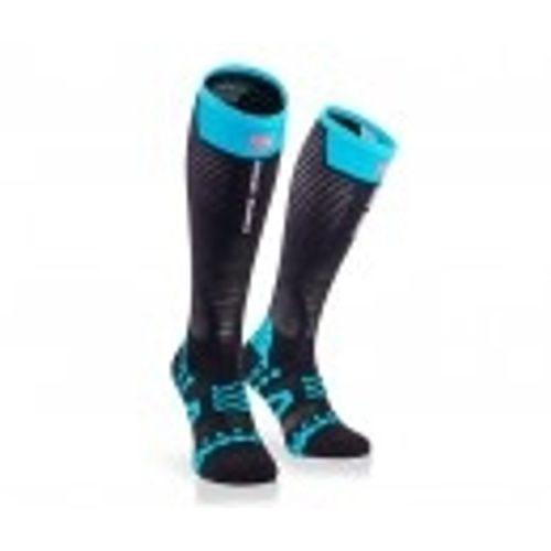 Medias-compresion-Compressport-Full-Sock-Ultralight----Unisex---Trail-Running-Black-Talle-1--34-37-ARG