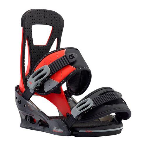 Fijaciones-de-Snowboard-Burton-Freestyle-2017-Hombre-Red-Rum-L---USA--10---ARG--43---CM--28