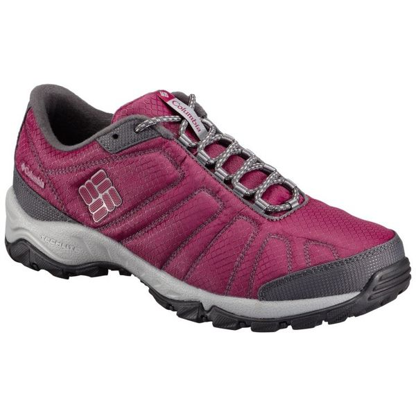 Zapatillas Columbia Firecamp - Trail Running (Dama) - Red  Plum ... 80ad5b2ced7