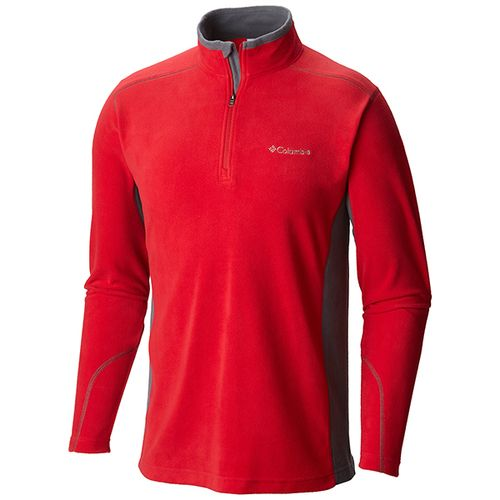 Buzo-De-Polar-Micropolar-Columbia-Klamath-Medio-Ciere-Hombre-615-Mountain-Red---Graphite-S