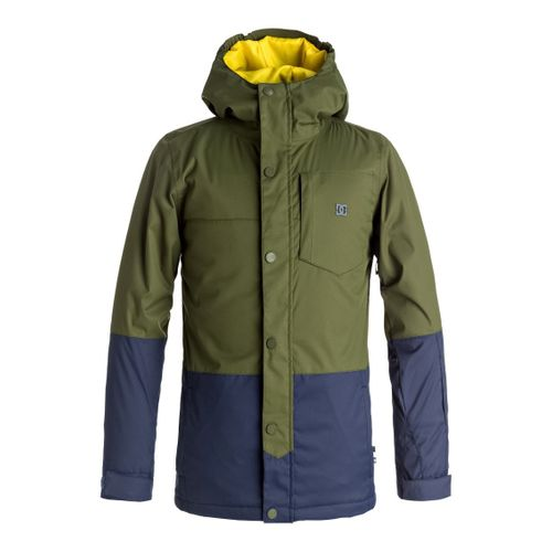 Campera-DC-Defy--Impermeable-de-nieve-Niños-GRY0-Chive-16