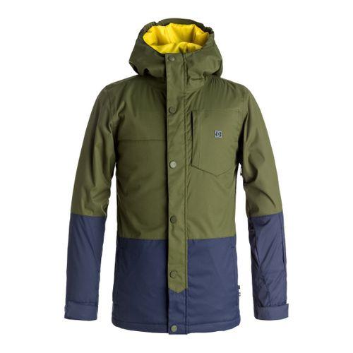 Campera-DC-Defy--Impermeable-de-nieve-Niños-GRY0-Chive-12