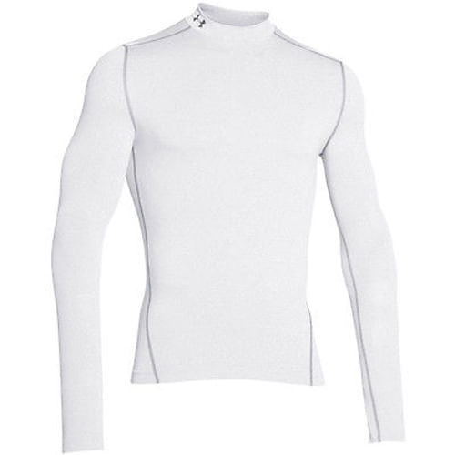Remera-Under-Armour--ColdGear®-Armour-Compression-Mock--Hombre--S-White