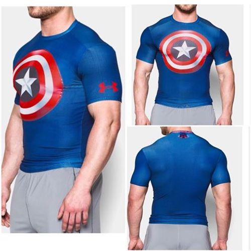 Remera-Under-Armour-Heatgear-alter-ego-Compression--M-c--Hombre--Capitan-America-M