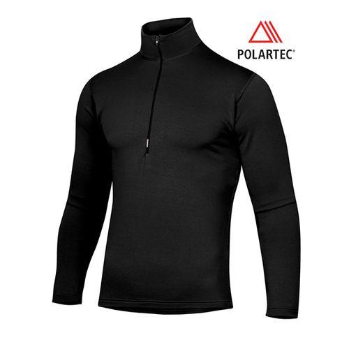 Camiseta-Termica--Ares-Ansilta-POLARTEC®-P.D.MIDWEIGHT--Hombre--XL-Negro