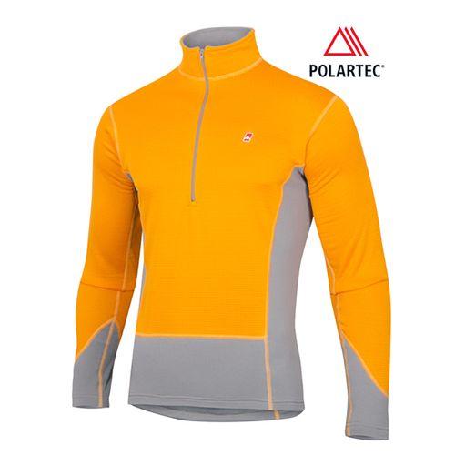 Camiseta-Termica-Ansilta-Neyun---Hombre---Polartec-Heavy-Weight-Naranja-M