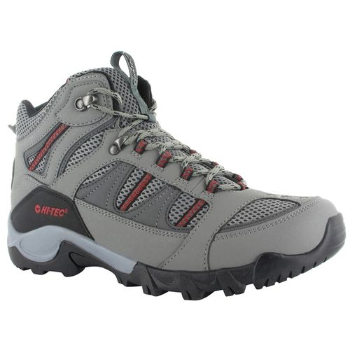 Botas-Hi-tec-Bryce-II-WP--Hombre-Cool-Grey---Ghaphite---Red-EUR-40---ARG-39.5---CM-25.5