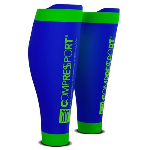 Pantorrilleras--Compressport-R2-V2---Trail-Running---Ciclismo---Recovery-Blue-Talle-4--42-46-CM
