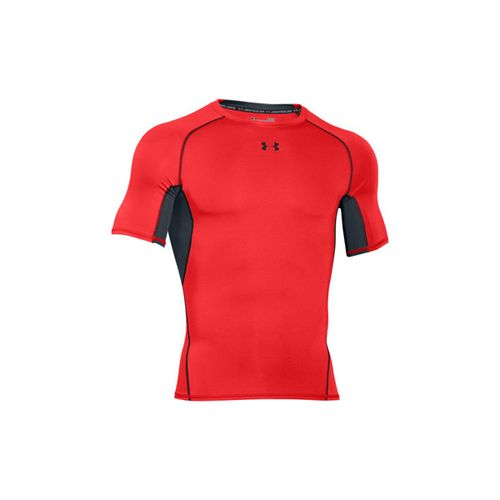 Remera-Under-Armour-HeatGear®--Short-Sleeve-Compression-Hombre-M-Rock-Red