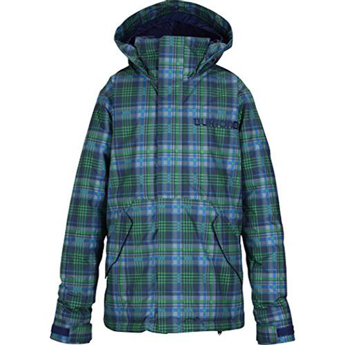 Campera-Burton-Hart-Girls--Junior--L-Mascot-Mason-Plaid