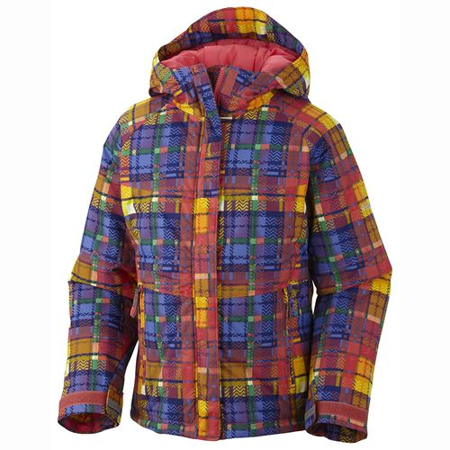 Campera-Columbia-Triple-Run--Niños--Afterglow-Plaid-Print-4-5