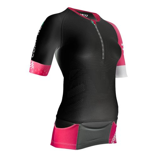 Remera-Compresion-Compressport-Tr3-Aero-Top---Triathlon---Mujer-Black-xs
