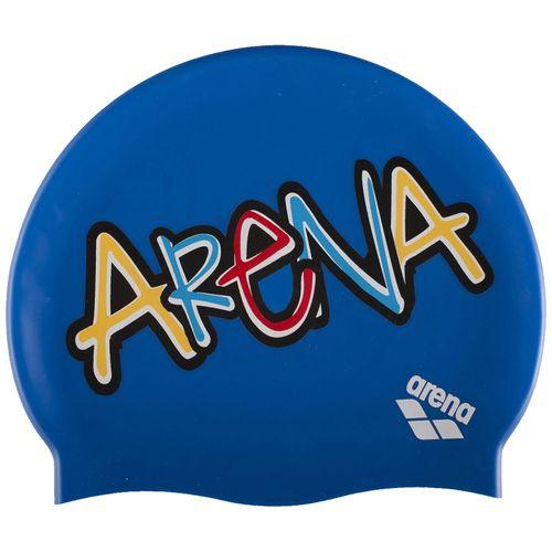 Gorro-Natacion-Arena-Printed-Jr---Niños-Sparkle-Pixblue