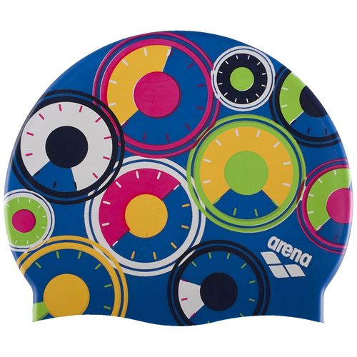 Gorro-Natacion-Arena-Printed-Jr---Niños-Gear-Royal