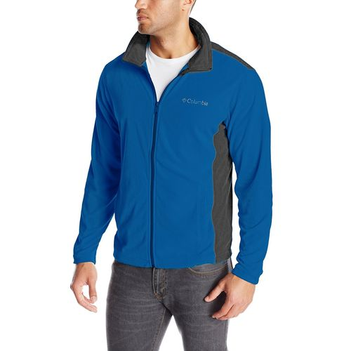 Campera-Polar-Columbia-Klamath--Range-Full-Zip---Hombre--XL-Blue--Graphit