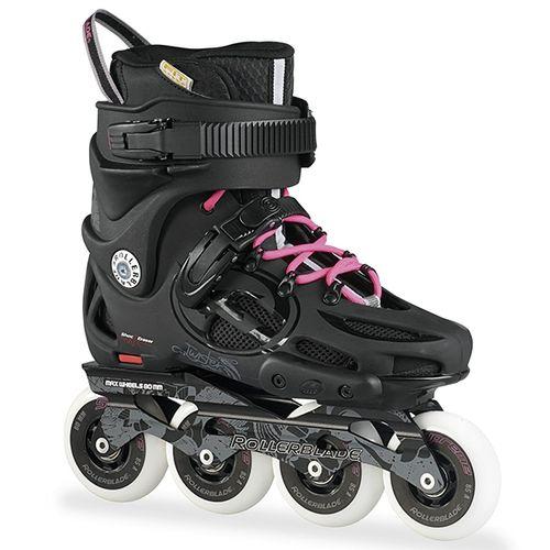 Patin-Rollerblade-Twister-80---Mujer---2017-Black---Pink-CM-23---ARG-35.5---EUR-36.5