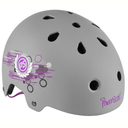 Casco-Roller-Powerslide-Allround-Phuzion---Niña--Grey-Pink-Xxs-Xs---48-54cm