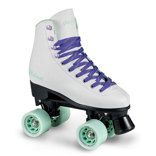 Patines-Playlife-Quad-Melrose-White-by-Powerslide-Junior-Niñas-White-Violette-EUR-34---ARG-33---CM-22.7