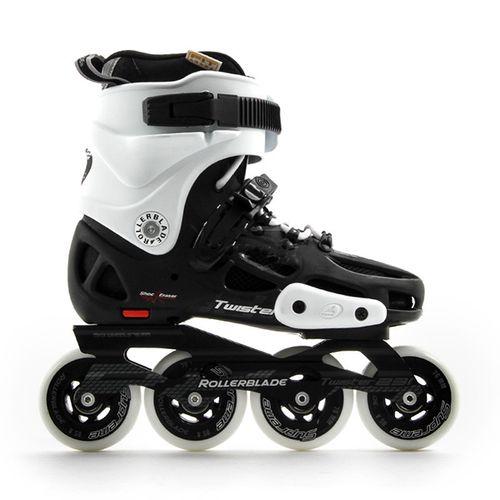 Patin-Rollerblade-Twister-231---Unisex---2017-Black-White-CM-24---ARG-37---EUR-38