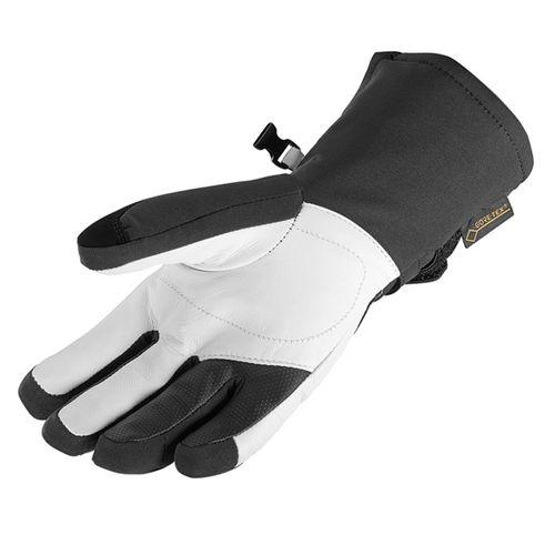 Guantes-Salomon-Propeller-Goretex--gtx--ski-Snow-Mujer-375974-Black-White-XS
